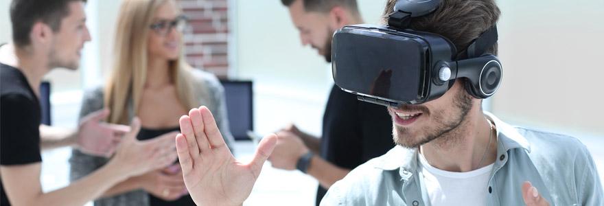 simulateur réalité virtuelle