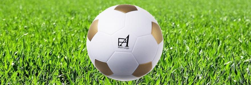ballon de foot publicitaire