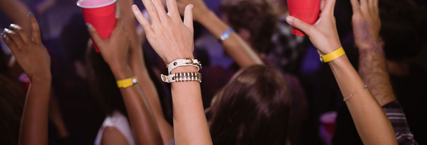 Bracelet événementiel
